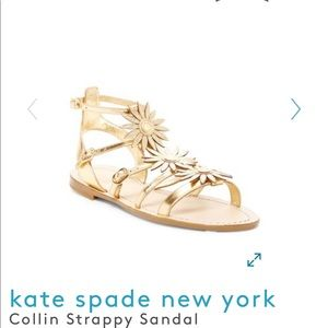 Kate Spade Collin Strappy Sandals sz 7.5